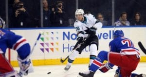 San Jose Sharks and New York Rangers