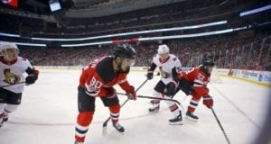 Marcus Johansson will be put on the IR when Kyle Palmieri is ready to return
