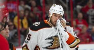 The Anaheim Ducks put Ryan Getzlaf on the IR.