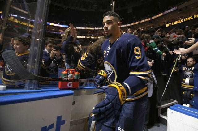Will be weeks before the Buffalo Sabres make a decision on Evander Kane