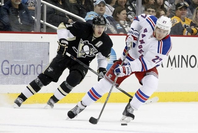 Evgeni Malkin and Ryan McDonagh