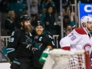 The San Jose Sharks continue to look for a winger to play with Joe Thornton and Joe Pavelski