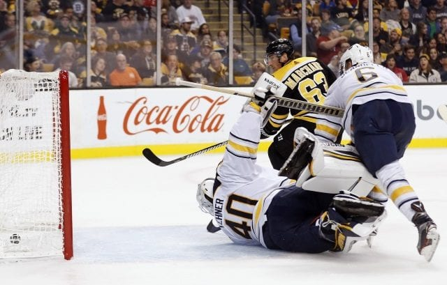 Teams calling the Buffalo Sabres about Robin Lehner and Chad Johnson ... Teams targeting Brad Marchand?