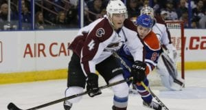 Tyson Barrie and Connor McDavid