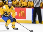 Rasmus Dahlin hasn't disappointed at the World Junior Championships thus far.