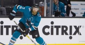 The San Jose Sharks and Paul Martin's camp are exploring their options.