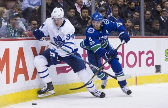The Toronto Maple Leafs may be more interested in Chris Tanev than Erik Gudbranson