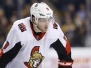 Ottawa Senators Bobby Ryan out with another hand injury.