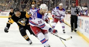 New York Rangers defenseman Kevin Shattenkirk is out indefinitely as he requires knee surgery.