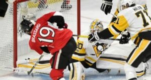The Pittsburgh Penguins are believed to be interested in Ottawa Senators center Derick Brassard.