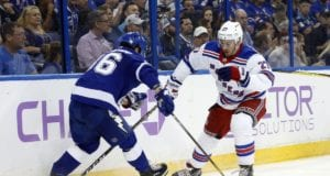The Tampa Bay Lightning and New York Rangers could be talking about Ryan McDonagh