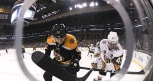 Boston Bruins and Vegas Golden Knights