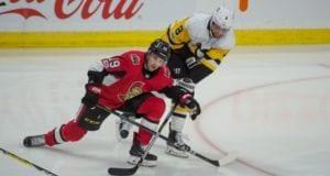 The Ottawa Senators trade Derick Brassard to the Pittsburgh Penguins