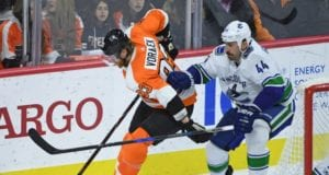 Some think the Vancouver Canucks shouldn't re-sign Gubdranson. The Philadelphia Flyers could use a No. 2 or 3 center.