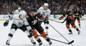 Anaheim Ducks and Los Angeles Kings