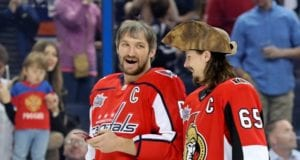 Are the Washington Capitals now in on Erik Karlsson?