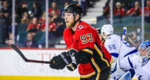 Sam Bennett is one player the Calgary Flames could move if they are looking to fill a hole.