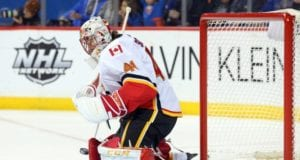 Do the Calgary Flames look to trade for a goaltender before the deadline?