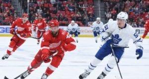 The Toronto Maple Leafs are reportedly interested in Luke Glendening.