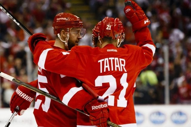 Teams aware of Mike Green's injury. Calling on Tomas Tatar.