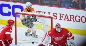 The Detroit Red Wings offered Petr Mrazek to the Philadelphia Flyers for a third round draft pick.