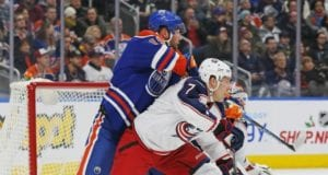 Jack Johnson and Patrick Maroon could be traded today.