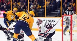 Mike Fisher practices with Predators for first time since announcing comeback