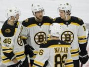 Kevan Miller to travel with Bruins