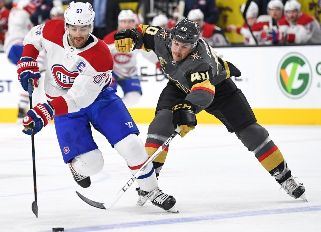 Nhl Trade Canadiens Trade Max Pacioretty To Golden Knights For Tomas Tatar Nick Suzuki And A Pick Nhl Rumors