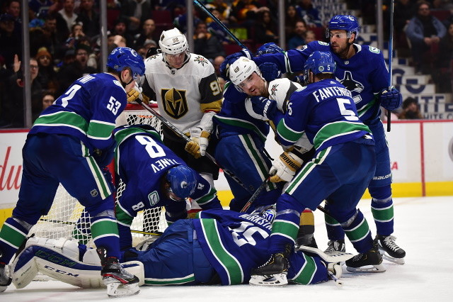 Nhl Rumors Flat Salary Cap Not Doing Any Favors For The Vegas Golden Knights And Vancouver Canucks Nhl Rumors