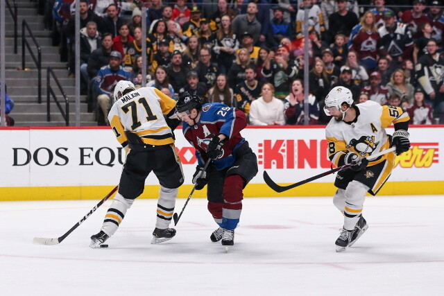 NHL Injury Updates: Avalanche, Penguins, Blues and Canucks | NHL Rumors